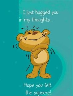 I Just Hugged You In My Thoughts Pictures, Photos, and Images for Facebook, Tumblr, Pinterest, and Twitter