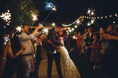 Sparkler Send Off // Wedding Photography // Serendipity Garden Wedding // www.dezandtam.com