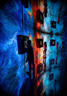 Nohlab Studio on Behance Interactive Exhibition, Interactive Walls, Interactive Media, Interactive Installation, Exhibition Display, Installation Art, Ocean Projects, Digital Museum, Immersive Experience