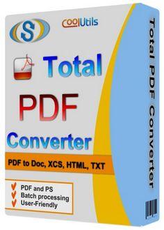 Descripción: Descargar Coolutils Total PDF Converter 2.1.255 [Conversor de ficheros PDF] Gratis por mediafire, mega o torrent full...