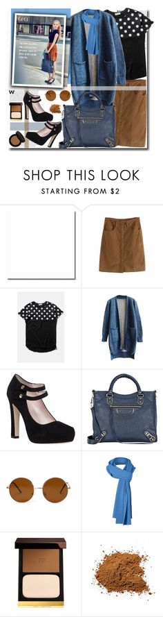 """""""#beautifulhalo"""" by sweta-gupta ❤ liked on Polyvore featuring Kate Spade, Balenciaga, Forever 21, Tom Ford, Bobbi Brown Cosmetics, women's clothing, women's fashion, women, female and woman"""