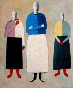 Kazimir Severinovich Malevich (Russian,  1879—1935)