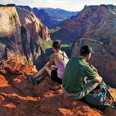 Angels Landing (Zion National Park) in Springdale, Utah http://www.womenshealthmag.com/fitness/great-hikes/slide/23