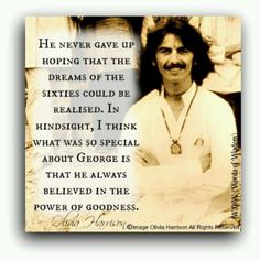 Beautiful quote about George <3