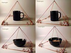 Piramida din cupru realizata manual. Pret 105 lei doar la comanda  . Pentru comenzi telefon: 0759165234 sau email: hadaruga.mihai@yahoo.com