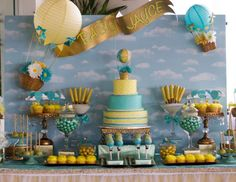 "Up up and away / Baby Shower ""Up Up & Away With Baby Jayce"" 