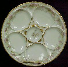 Haviland Oyster Plate
