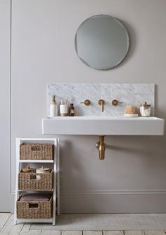 Now that's a chic bathroom. Get the look with our Marrakesh collection.