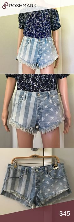 """✔️NWT Abercrombie Denim Frayed Shorts Brand new. Waist 30"""". Price: Fair and reasonable offer immediately accepted. Shipping: Ships within 24 hours. Abercrombie & Fitch Shorts Jean Shorts"""