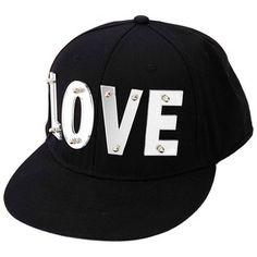 03da312e078 Charlotte Russe Mirrored Love Baseball Cap