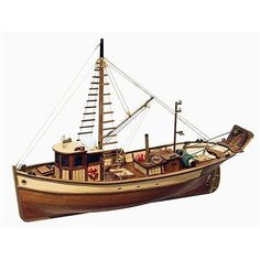 #Occre #palamos fishing boat 1:45 scale model boat #display kit 12000,  View more on the LINK: 	http://www.zeppy.io/product/gb/2/400683177708/