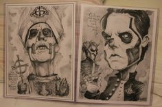 GHOST art 2-pack by PartsUnknownPosters on Etsy