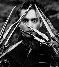 Famous Black and White gpthic | actor, black and white, famous, johny depp - image #354711 on Favim ...