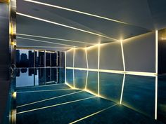 EAST Hotel by BENOY - stunning lighting and mirroring effects