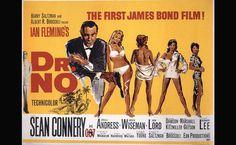 50 anos de 007 na parede