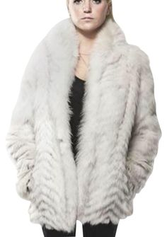 8d5922f162d #SagaFurs #Blue Fox Fur Large Fur Coat. Free shipping and guaranteed  authenticity on