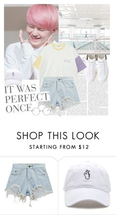 """""""Woooozi."""" by rocio-kim ❤ liked on Polyvore featuring Chicnova Fashion, kpop, seventeen and woozi"""