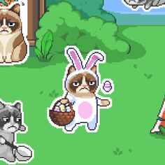 I'm playing Grumpy Cat's WORST-GAME-EVER! Download http://grumpy.cat/GCWorstGameEver #GrumpyCat #WorstGameEver