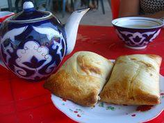 A survey of Central Asian cuisine, including staple dishes and regional specialties from Turkmenistan, Uzbekistan, Kazakhstan, Kyrgyzstan, and Tajikistan.