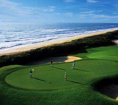 Hammock Beach Golf Resort - The Ocean Course. Stunning waterfront course on the Atlantic Ocean in Palm Coast, Florida (near Jacksonville).
