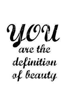 You are the definition of beauty. #freespo #realbeauty