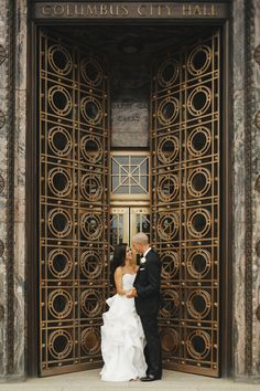 A Classic, Elegant Wedding at the Ivory Room in Columbus, Ohio