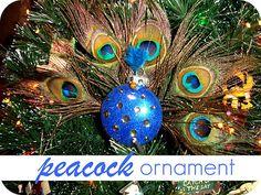 Peacock Ornament {Tutorial}