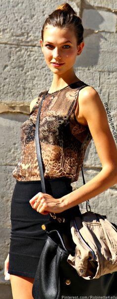 Street Style - Karlie Kloss