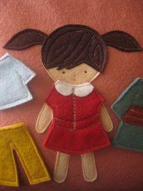 Maureen Cracknell Handmade: A Paper Doll Pillow : :