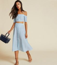 Reformation Ava Two-Piece