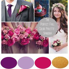 The Fall 2014 color palette is out, and girl does it look tasty | Read more at Southern MN Bride Blog