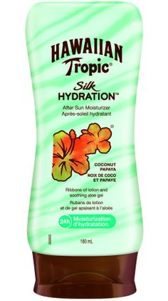 180 Ml Cool In Summer And Warm In Winter Hawaiian Tropic Silk Hydration Air Soft After Sun Lotion Coconut Papaya After Sun Skin Care