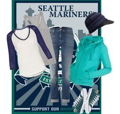 """""""Seattle Mariners"""" by lisathebooklady on Polyvore"""