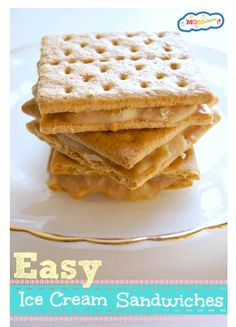 Healthy!  Mashed banana,  pb,  and graham cracker!  Ice cream sandwich for kids