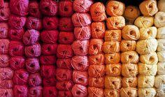 Rainbow. #yarn