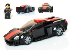 It is my own hypercar concept with a minifigure in Speed Champions scale. You can support on LEGO IDEAS, if you like it. #Lego #MOC #car #hypercar #supercar #sportscar #Legocar #SpeedChampions #minifigure