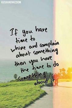 Do something.