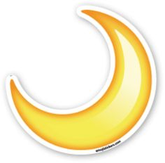 Crescent Moon   Emoji Stickers Emoji Stickers, Tumblr Stickers, Moon Emoji, Tumblr Png, Emoji Pictures, Emoji Faces, Speech Language Therapy, Funny Arabic Quotes, Cartoon Pics