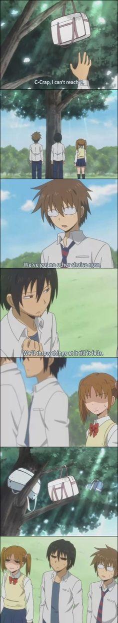 Daily Lives of High School Boys LOL (Danshi Koukousei no Nichijou) <3333333