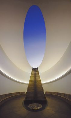 """Roden crater"" is the culmination of artist James Turrell's lifelong obsession with the contours of light and space. Located in an extinct volcano in the Arizona desert, Turrell's large-scale project involves a series of specially engineered caverns, tunnels and apertures, all working to allow Turrell's true medium (light) to shine through."