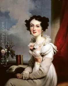 George Chinnery:Portrait Of A Lady, Said To Be A Member Of The Jardine Family