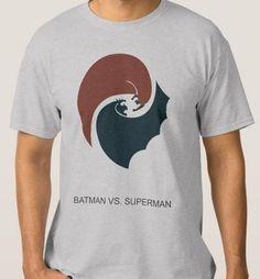 Idée Créative - Camiseta Batman vs Superman Combate