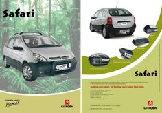 Citroën Xsara Picasso Safari version Mercosur (built in Argentina, a version featuring the 'pack look off-road')