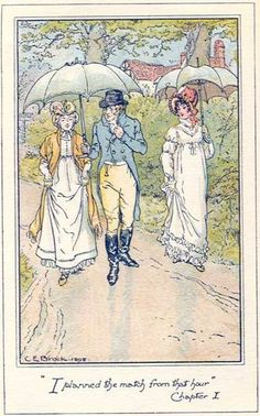 """E1. """"I planned the match from that hour."""" Jane Austen - Emma, Vol. I - cap. 1 (1)"""