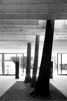 Nordic pavilion, Venice biennale, 1962. Architect: Sverre Fehn.