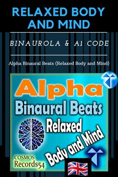 Alpha Binaural Beats (Relaxed Body and Mind) Mental Health Recovery, Mental Health Matters, Relax, Meditation, Binaural Beats, Album, Chill, Anxious, Body
