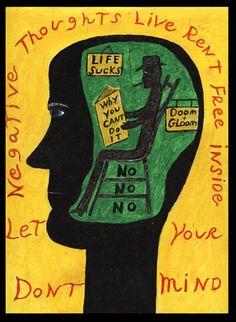 """Richard Chalmers: """"Negative Sitmmen in Ihrem Kopf"""""""