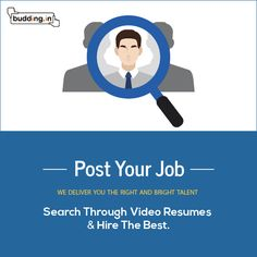 Post Resume Entrancing A Video Resume Is A Way For Job Seekers To Show Their Abilities