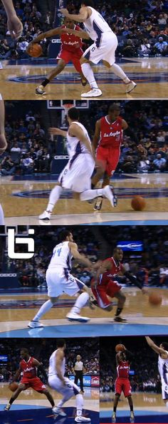 Chris Paul with the crossover(s)