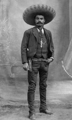 On April Mexican Revolution leader Emiliano Zapata was ambushed and killed in Chinameca, Morelos. He was Zapata is a hero to Mexicans and to all who fight for the rights of. Mexican American, Mexican Art, American History, Mexican Heroes, Fortes Fortuna Adiuvat, Mexican Revolution, Pancho Villa, Mexican Heritage, The Lone Ranger